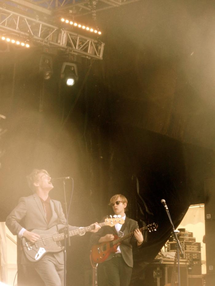 Fotografía de the Crookes en el Tramlines 2011