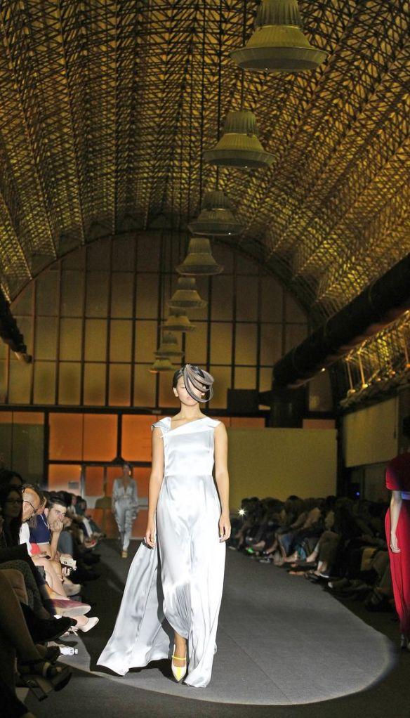 Desfile de la diseñadora Maria Lafuente madrid 17.9.13