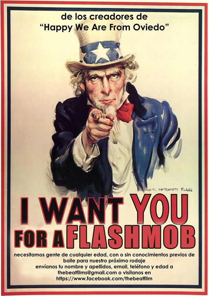 Participa del Flashmob que haráhistoria