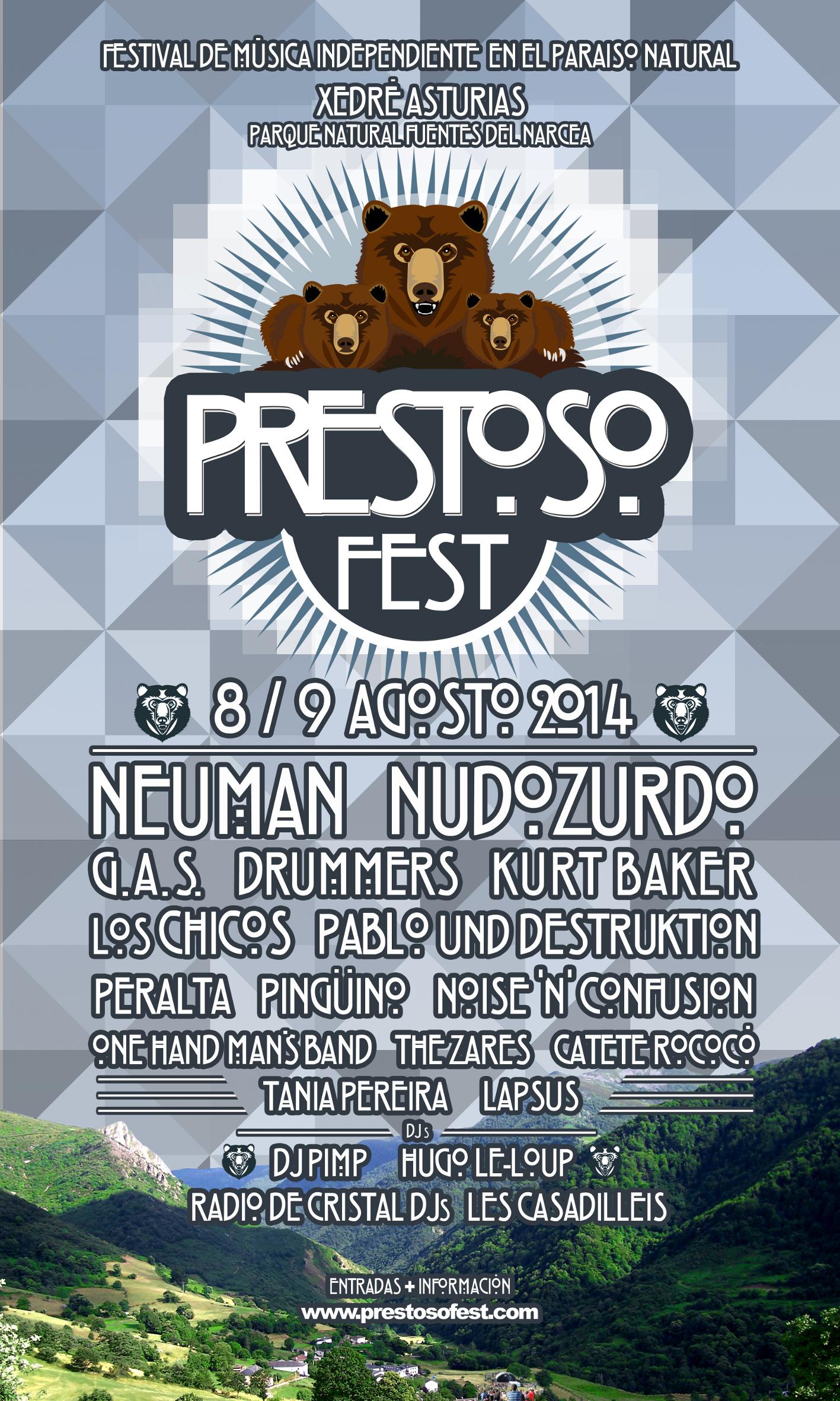 Prestoso Festival. Naturaleza y música enAsturias